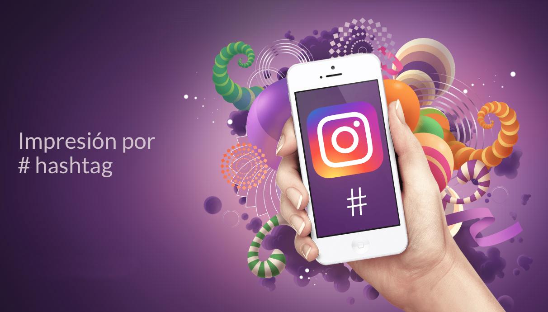 Impresora-hashtag-instagram