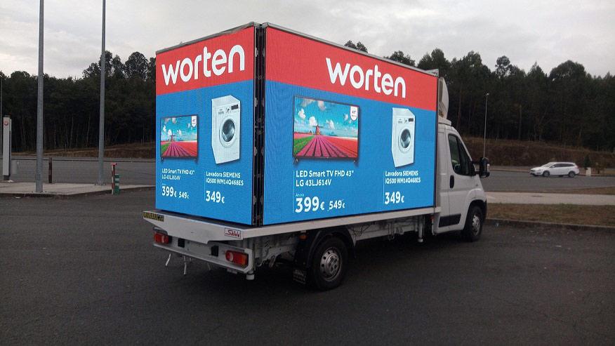 camion publicidad pantalla led gigante